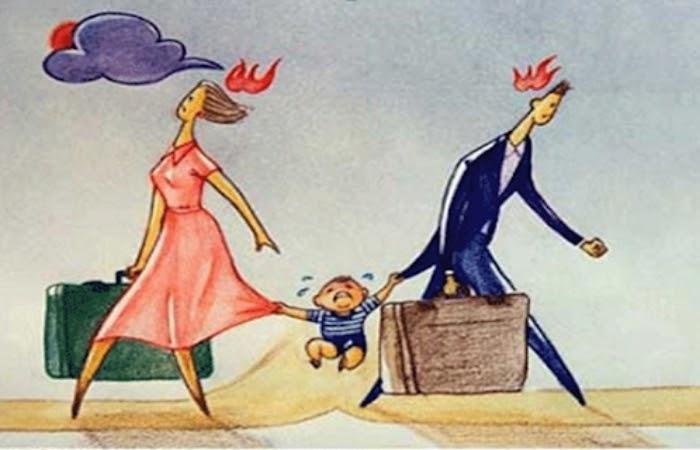 Khi ly hôn quyền nuôi con thuộc về ai? Vợ hay Chồng